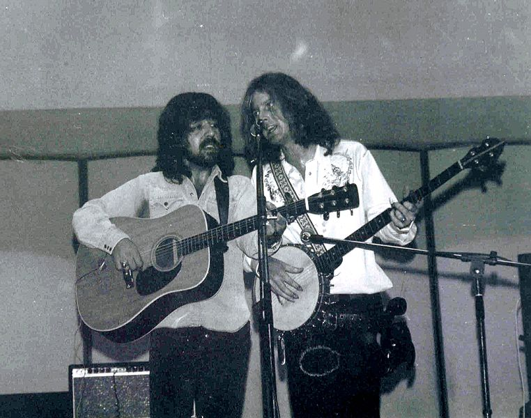 Clarence White and Roger McGuinn