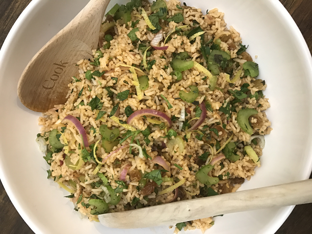 Basmati Rice & Spice Salad