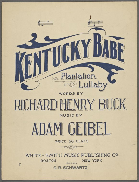 Feast Your Eyes on Vintage Sheet Music from the New York Public Library